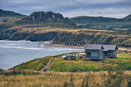 scenic view of sea and landscape