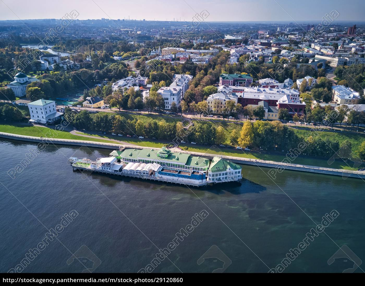 aerial, view, of, city, by, volga - 29120860