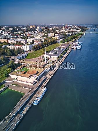 aerial, view, of, embankment, at, volga - 29120858