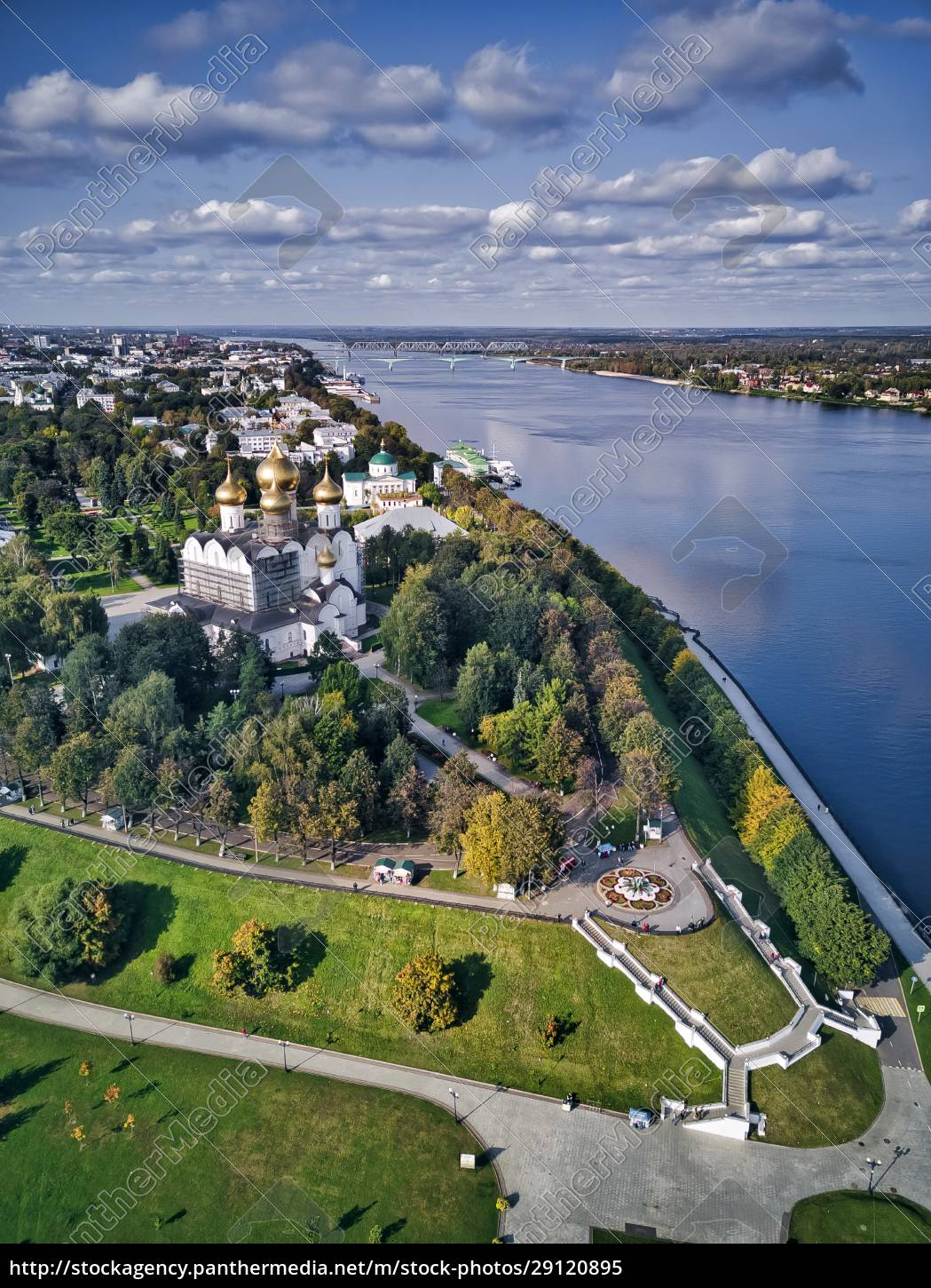 aerial, view, of, park, at, strelka - 29120895