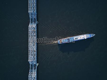 aerial, view, of, ship, on, volga - 29120824