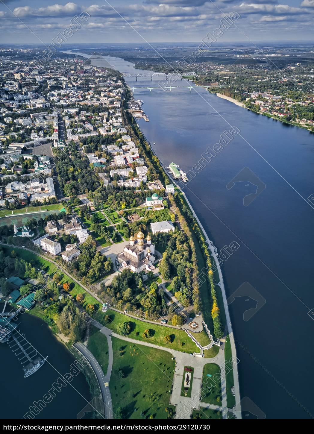aerial, view, of, volga, river, by - 29120730