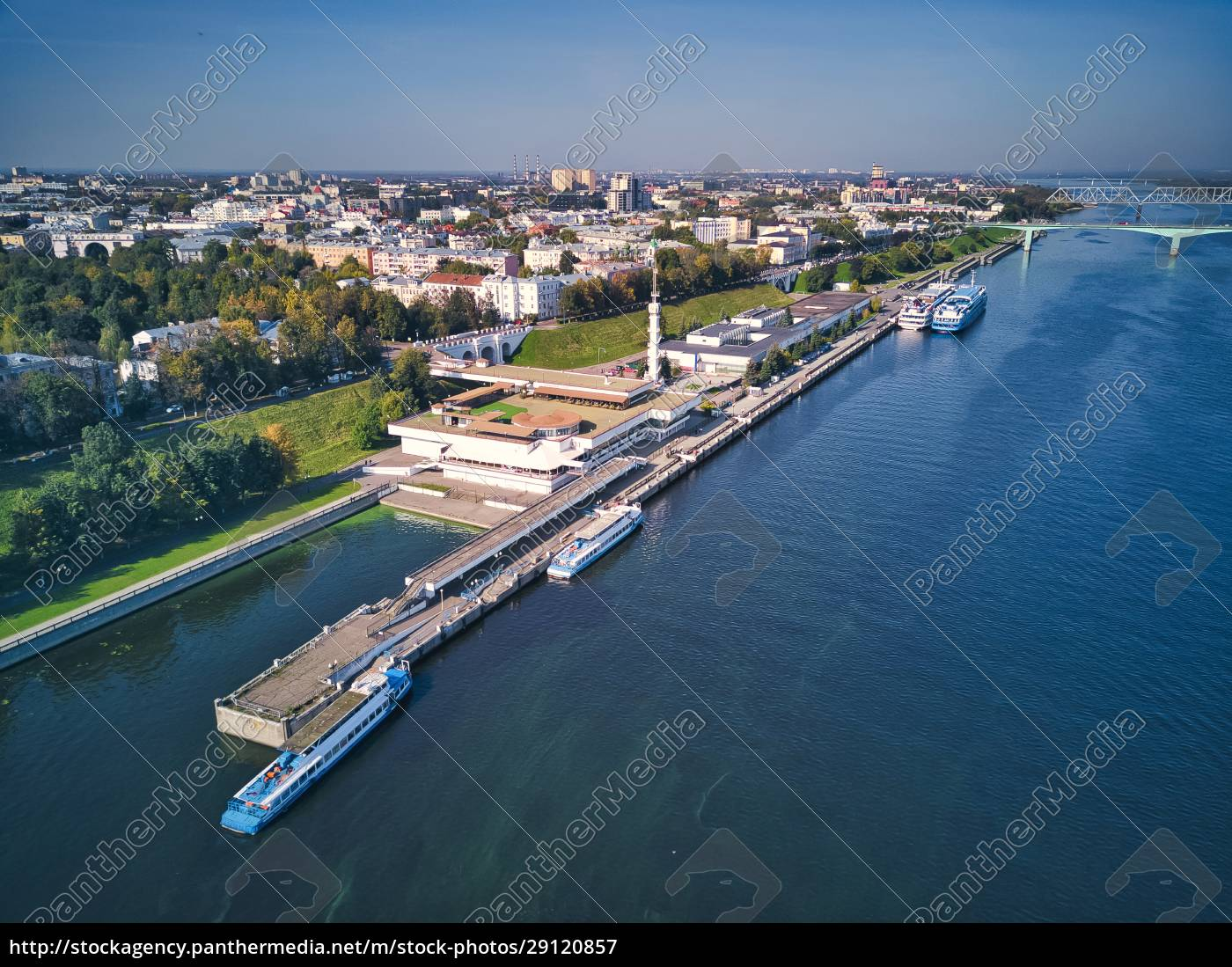 aerial, view, of, volga, river, embankment, - 29120857