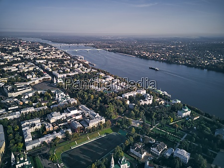 aerial, view, of, volga, river, with - 29120917