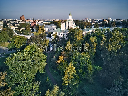 aerial, view, of, yaroslavl, museum-reserve, and - 29120897
