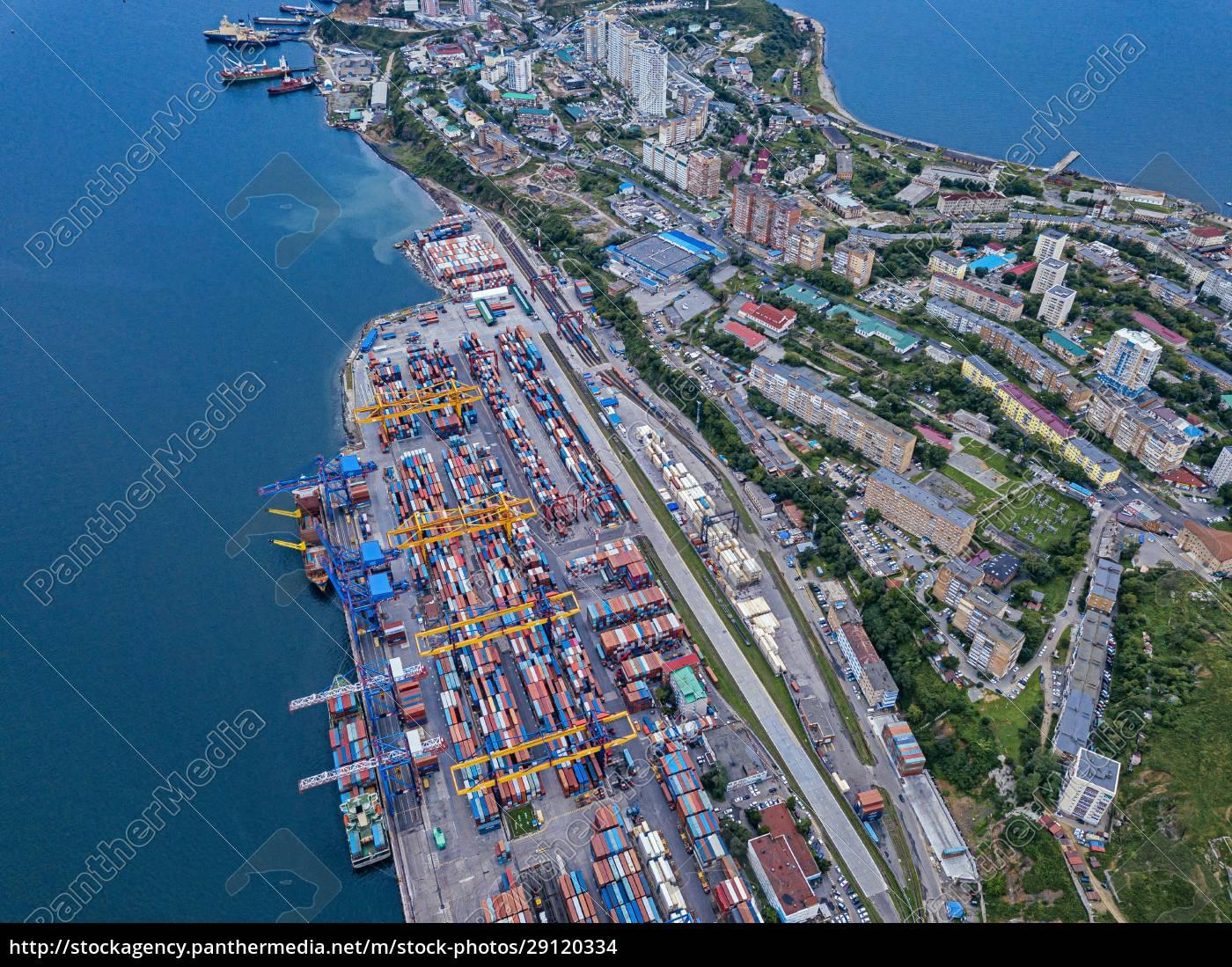 russia, , primorsky, krai, , vladivostok, , aerial, view - 29120334