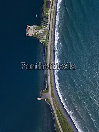 russia, , primorsky, krai, , zarubino, , aerial, view - 29120134