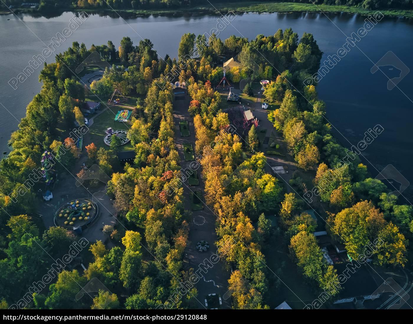 trees, at, amusement, park, by, kotorosl - 29120848