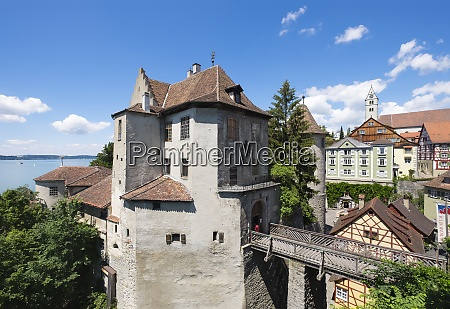 germany meersburg castle at lake constance