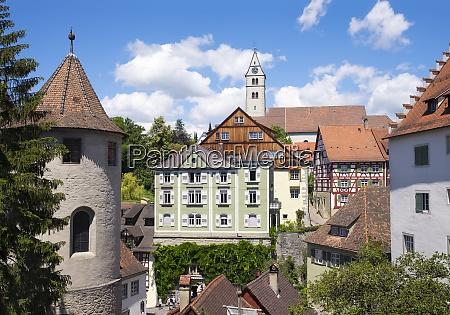 germany oberstadt meersburg castle and parish