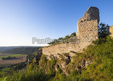 germany bavaria altmuehl valley castle ruin