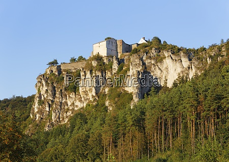 germany bavaria altmuehl valley castle ruin