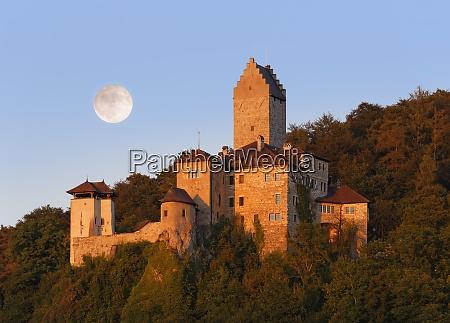 germany bavaria altmuehl valley kipfenberg castle