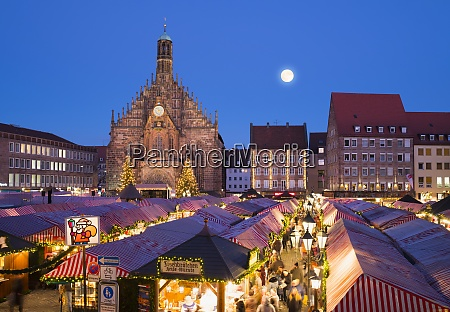 germany nuremberg view to church of