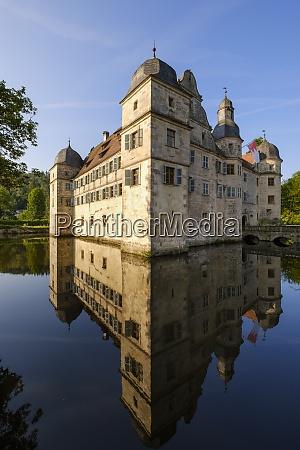 germany kronach moated castle mitwitz