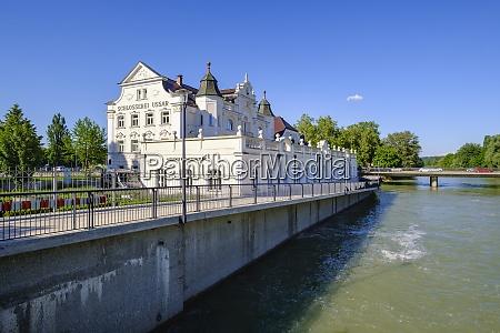 ussar villa with river isar landshut