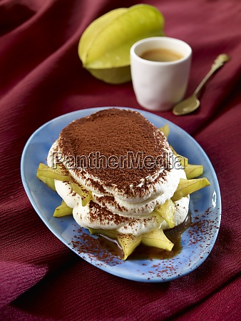 star fruit tiramisu