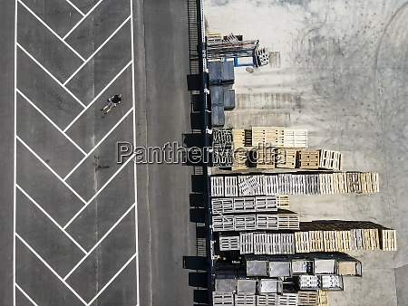 drone view of man lying on