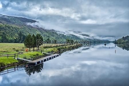 united kingdom scotland highlands caledonian canal