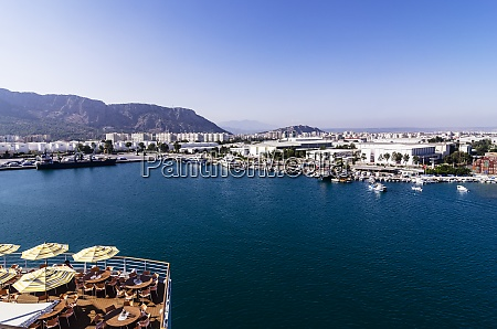 turkey middle east antalya container harbour