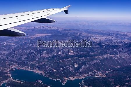 turkey view to taurus mountains