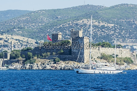 turkey bodrum aegean bodrum castle and