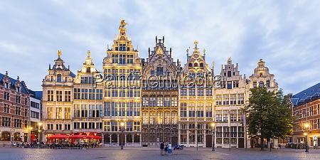 belgium flanders antwerp old town great