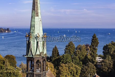 germany view to lake constance with