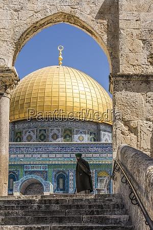 israel jerusalem man standing in front