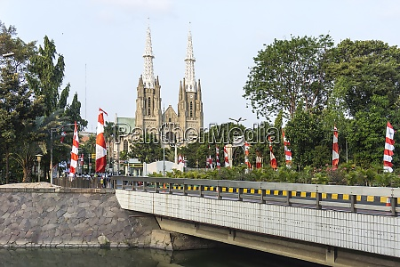 indonesia jakarta gereja katedral