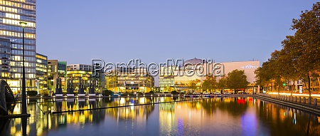 germany cologne media park in the