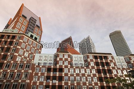netherlands den haag muzenplein modern architecture