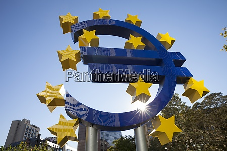 germany hesse frankfurt european union sign