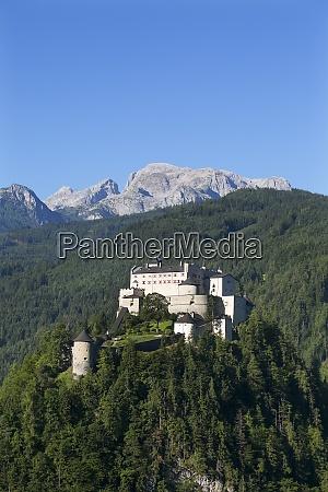 austria salzburg state werfen hohenwerfen castle