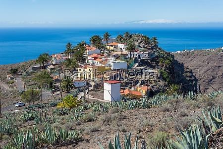 nice village arguayoda on la gomera