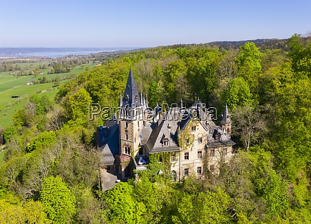 germany bavaria pahl drone view of