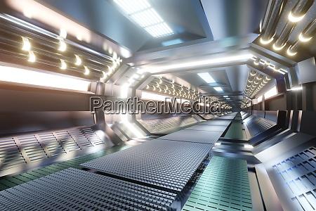 3d rendered illustration of science fiction