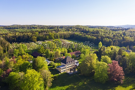 germany, , bavaria, , herrsching, , drone, view, of - 29125493