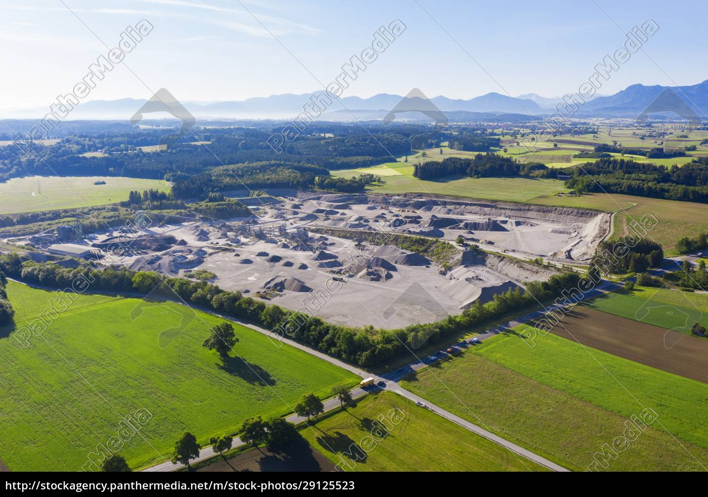 germany, , bavaria, , huglfing, , drone, view, of - 29125523