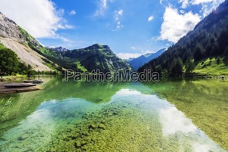 scenic view of vilsalpsee lake in