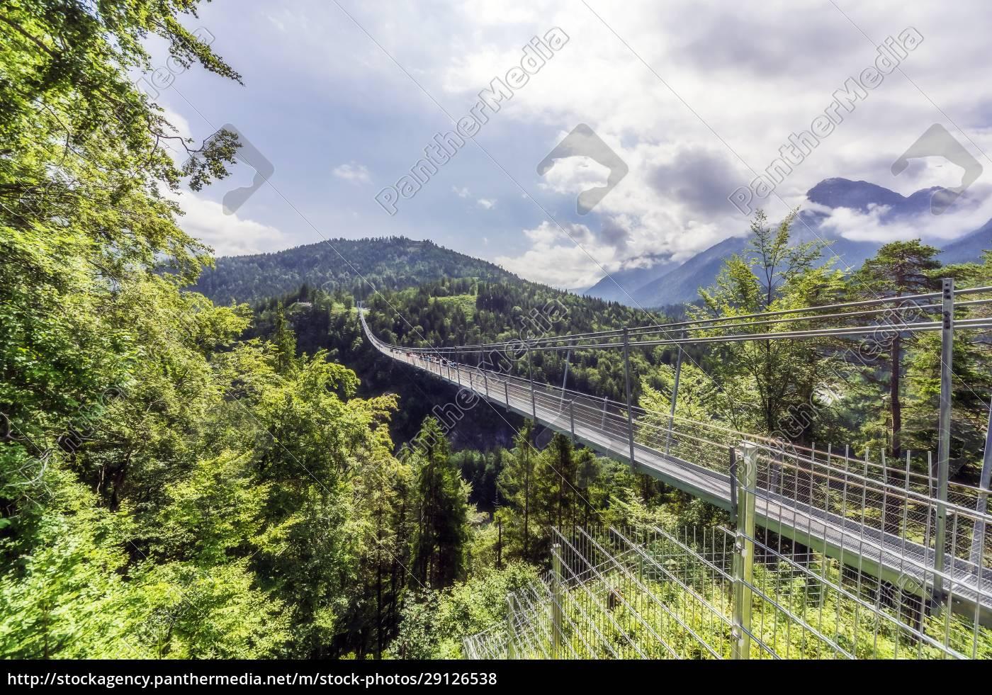 austria, , tyrol, , reutte, , highline179, stretching, over - 29126538