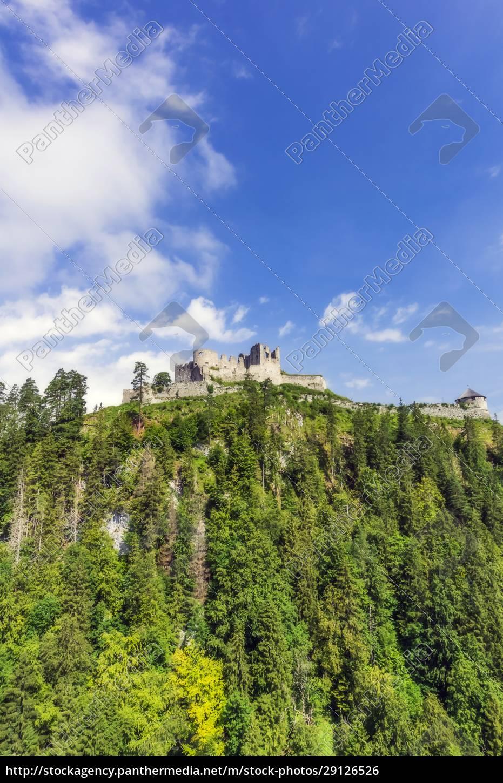 austria, , tyrol, , reutte, , ruins, of, ehrenberg - 29126526