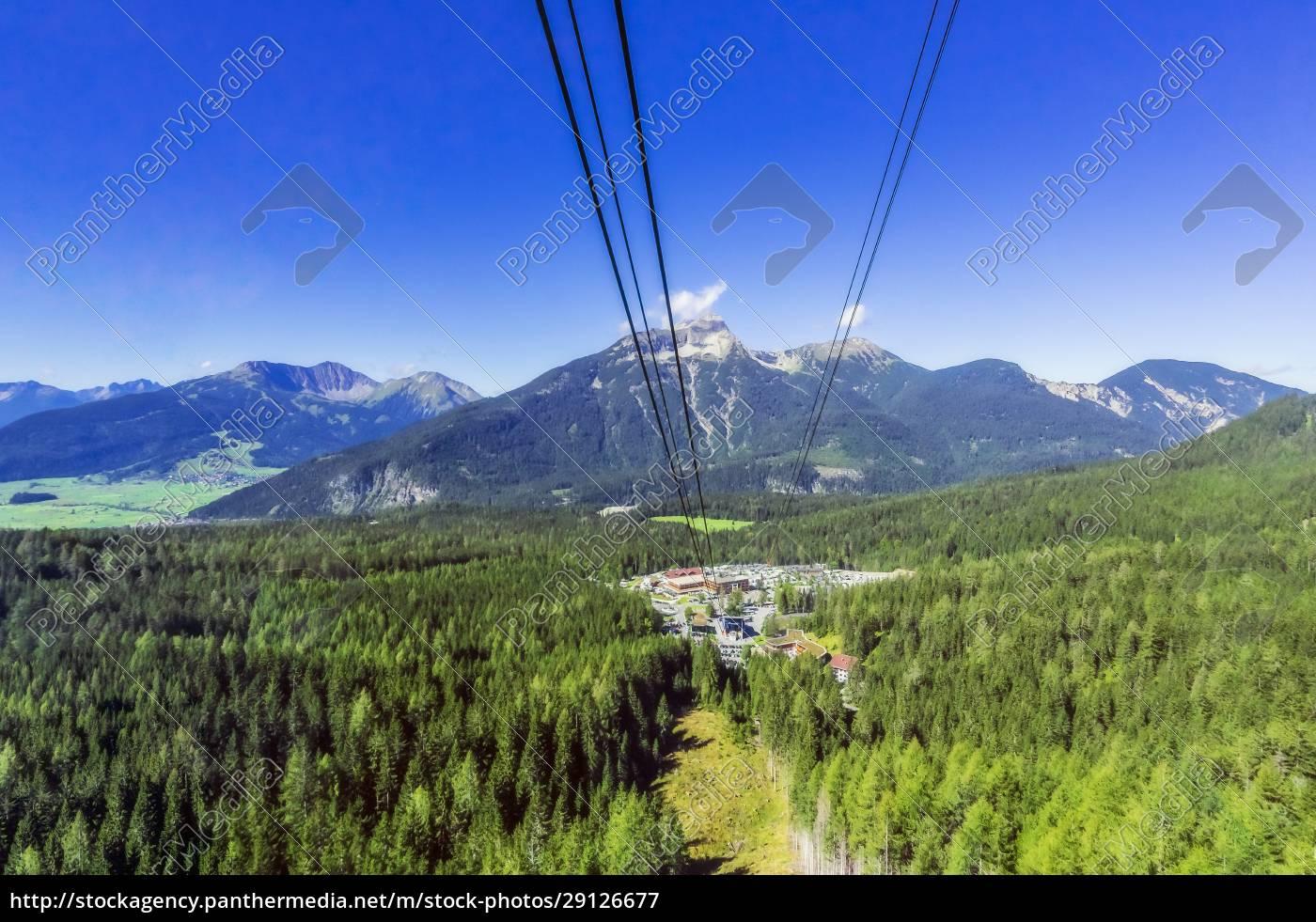 austria, , tyrol, , ski, lift, and, tourist - 29126677