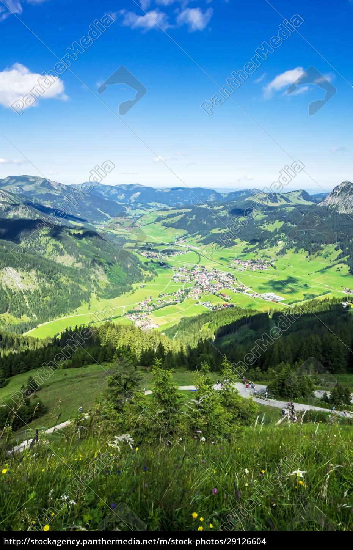austria, , tyrol, , town, in, scenic, tannheimer - 29126604