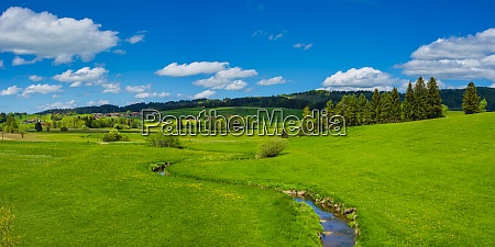 scenic view of alpine foothills near