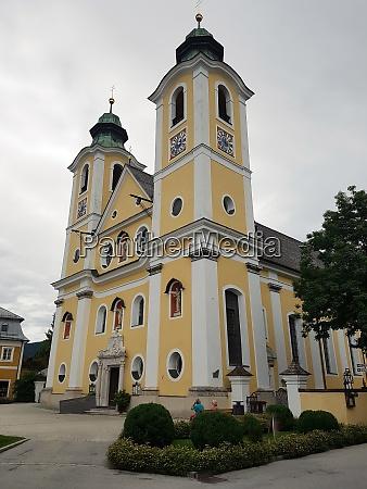 barrokkirche st johann tirol oesterreich