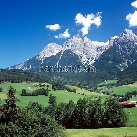 berchtesgadener alpen steinernes meer