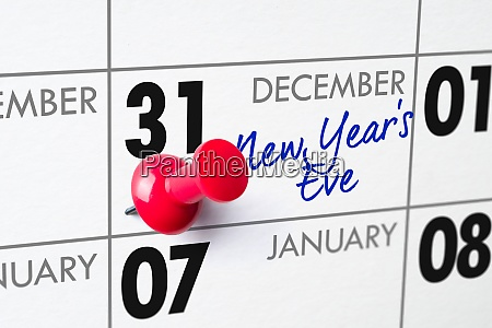 new years eve december 31