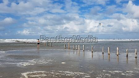 strand roemoe daenemark badestrand
