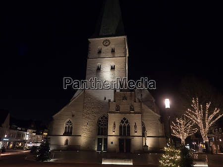 christmas time in the germany muensterland